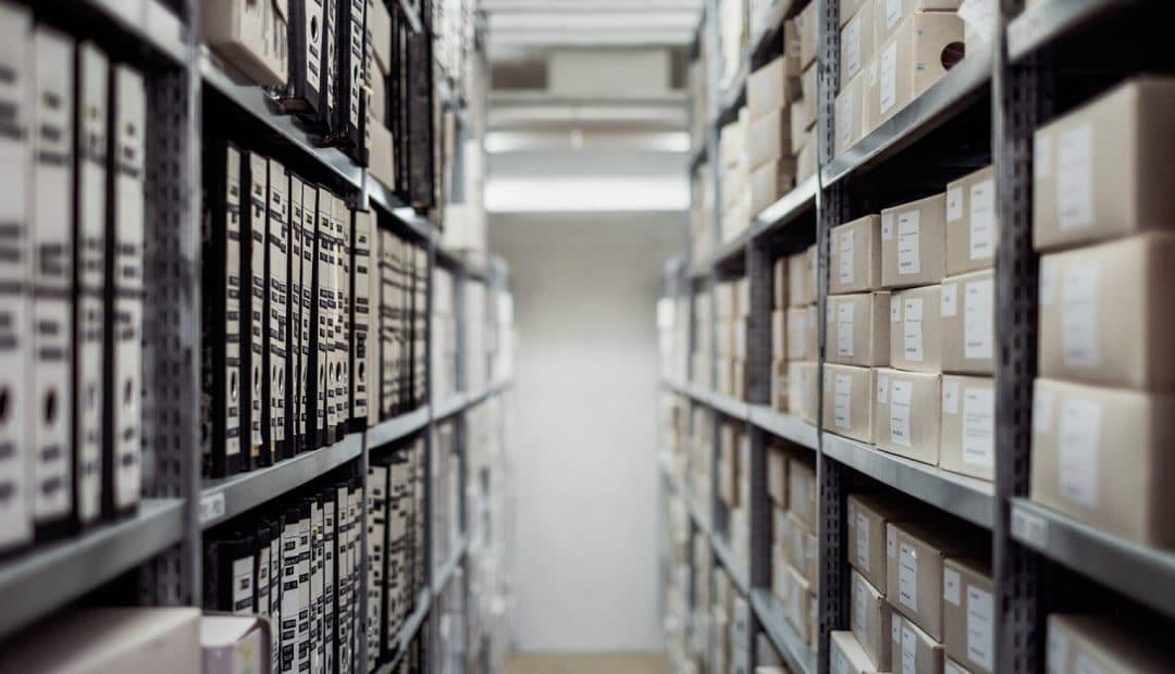 Des boîtes d'archives qui ne prennent pas feu